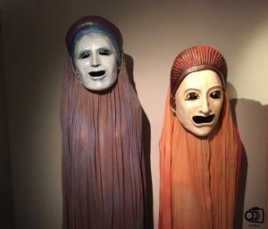 Máscaras del Museo Nacional del Teatro