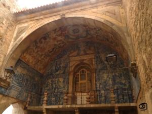 Azulejos de la Porta da Vila.
