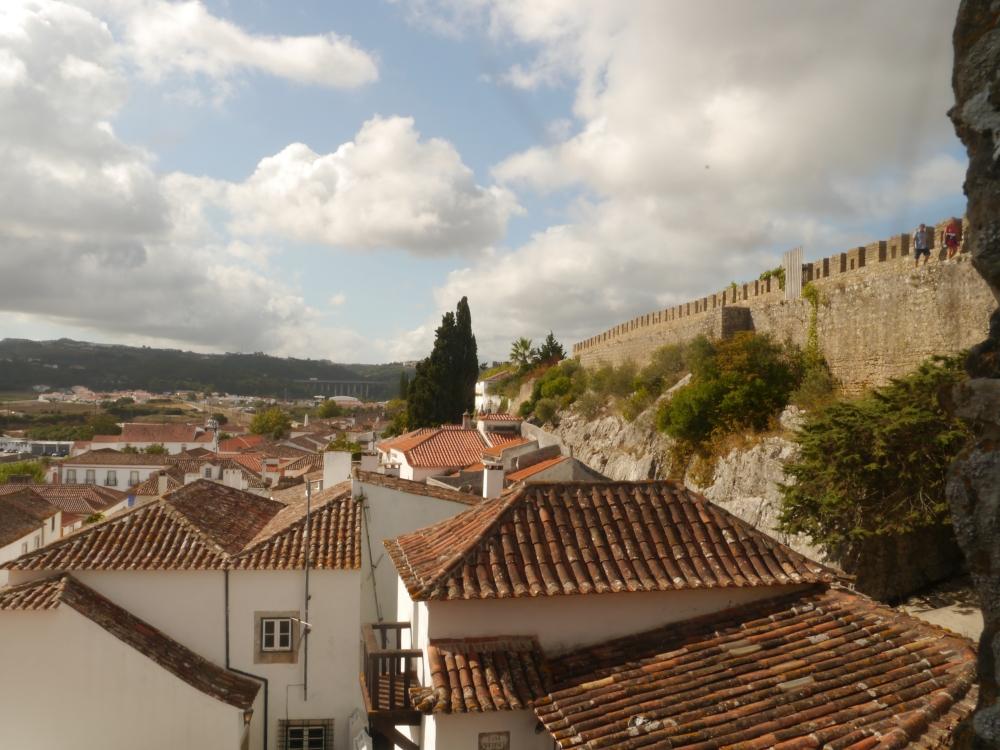 Vista de Obidos desde la muralla