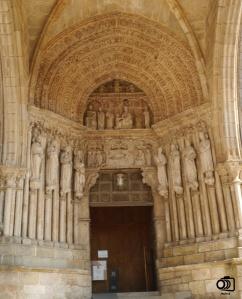 Pórtico de la Catedral de Tui