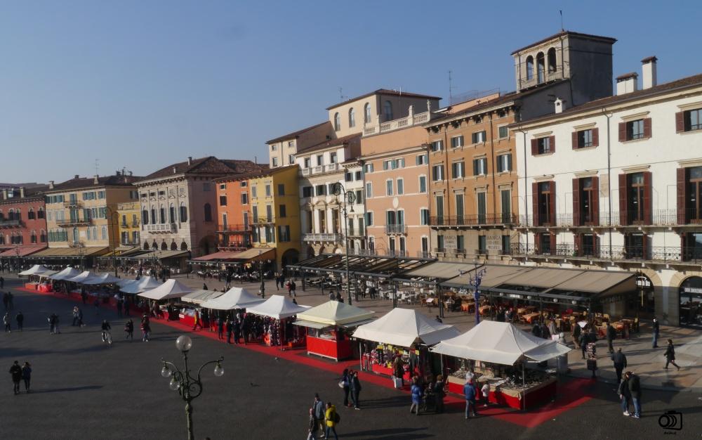 El Listón, Piazza Bra de Verona