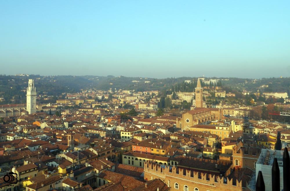 Vista de Verona desde la Torre Lamberti