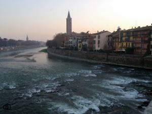 Vistas desde el Ponte di Pietra