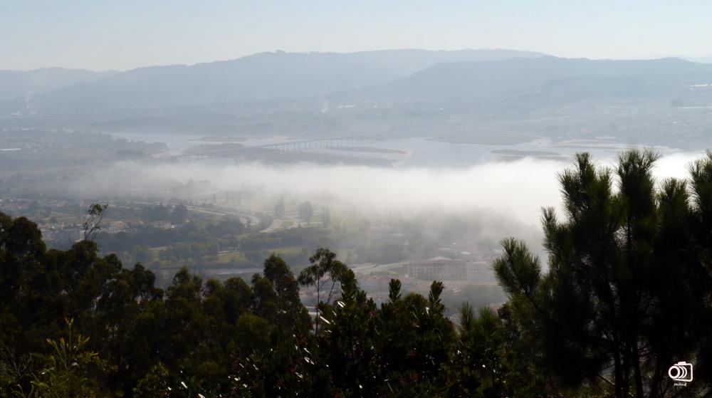 Vistas de Viana do Castelo desde el Monte de Santa Luzía