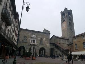 Piazza Vecchia de Bérgamo.