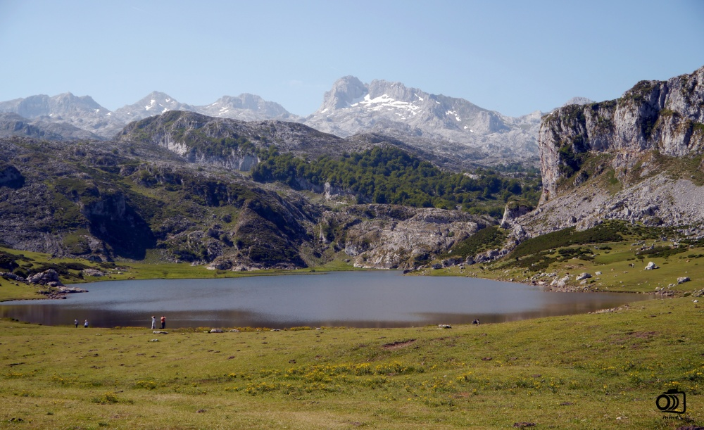 Lago La Ercina.