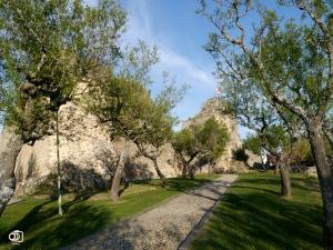 Ruinas del castillo de Miranda do Douro.