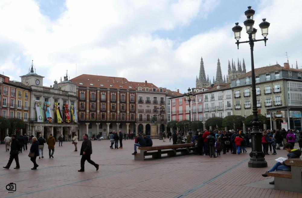 Plaza Mayor de Burgos.