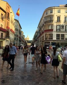 Calle Marqués de Larios.