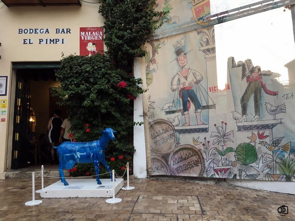 Bodega Bar El Pimpi.