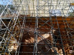 Excavaciones en los yacimientos de Atapuerca.