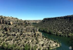 Las Hoces del río Duratón.