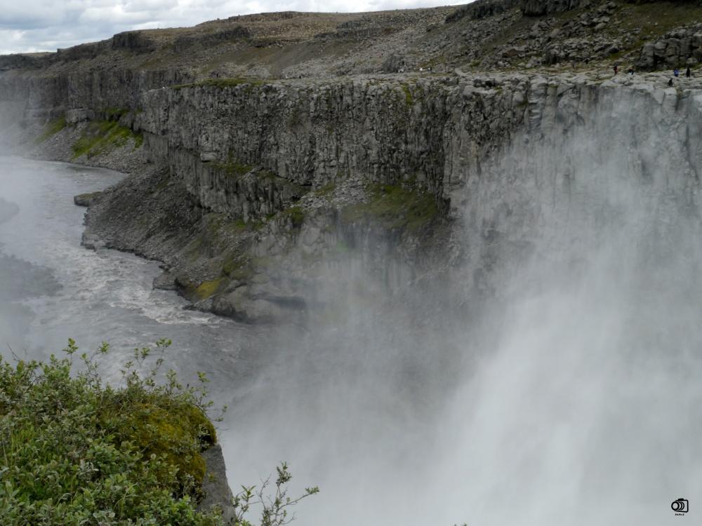 Cascada de Dettifoss.