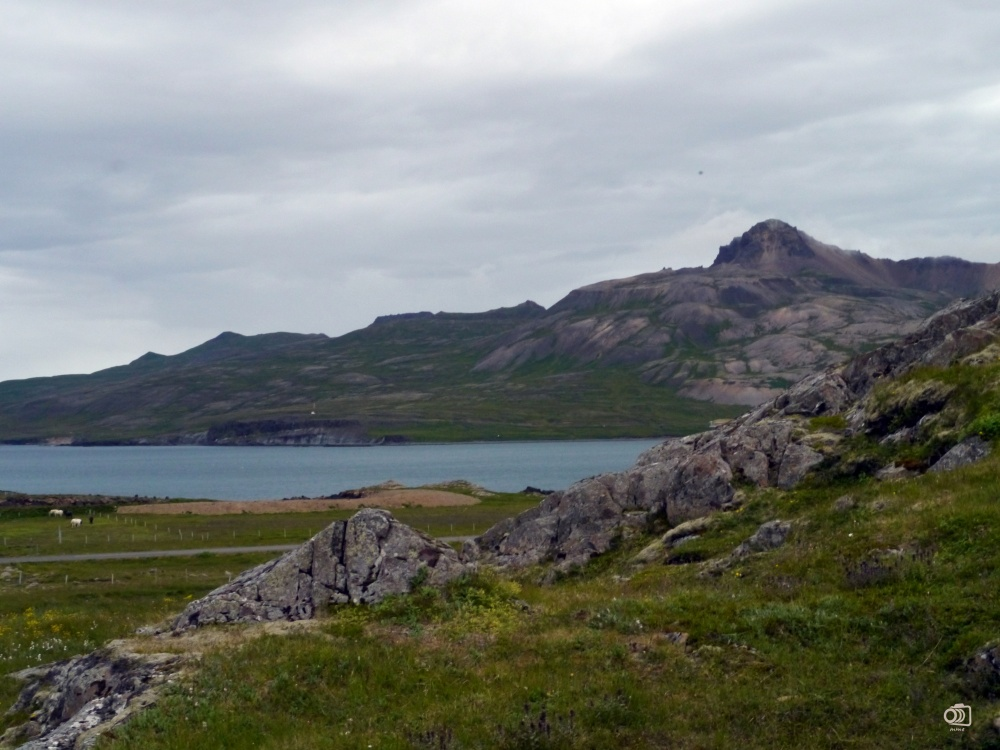 Vistas desde la Álfaborg (Borgarfjorður Eystri).