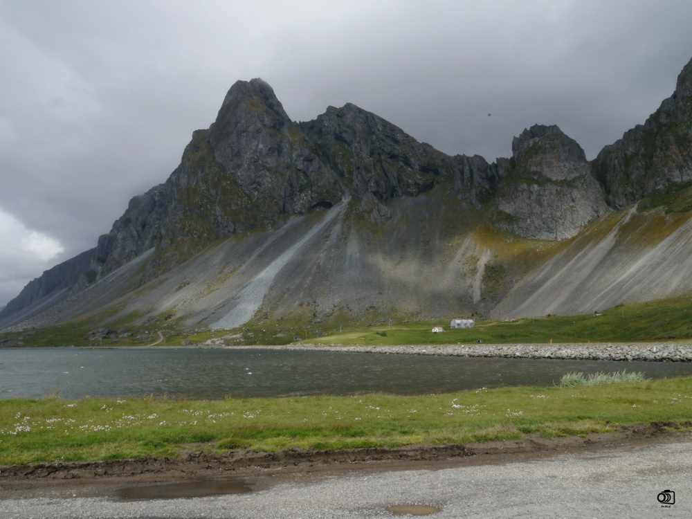 Carretera 1 por los fiordos orientales.